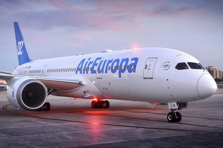 A Air Europa volta a operar no Aeroporto de Fortaleza (Foto: Divulgação)