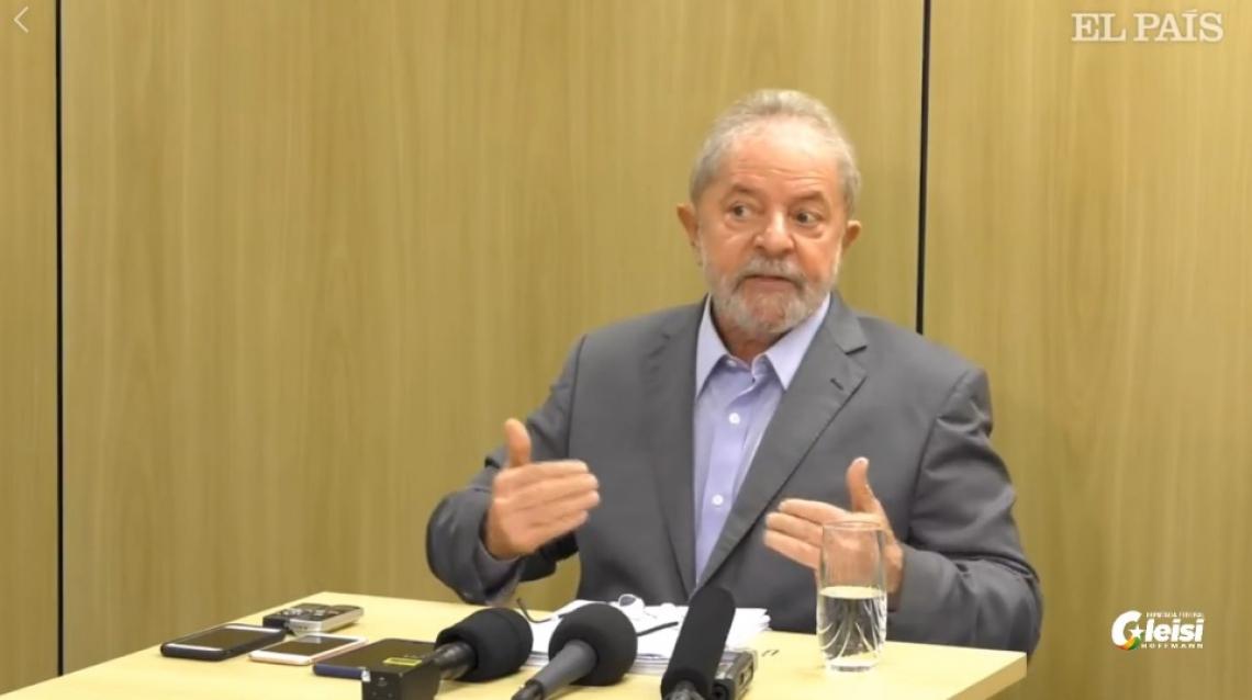 Lula concede primeira entrevista