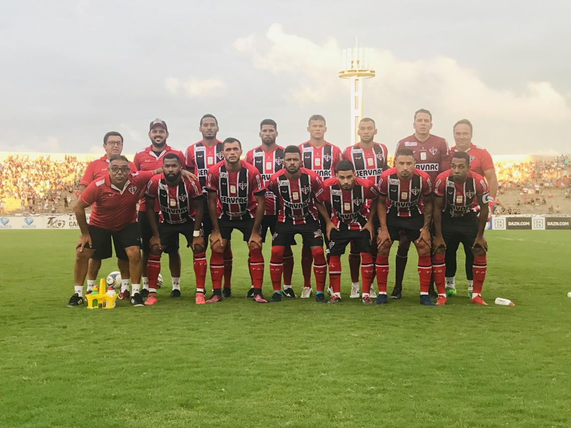 Ferroviário estreou com empate contra o Botafogo-PB no estádio Almeidão, em João Pessoa