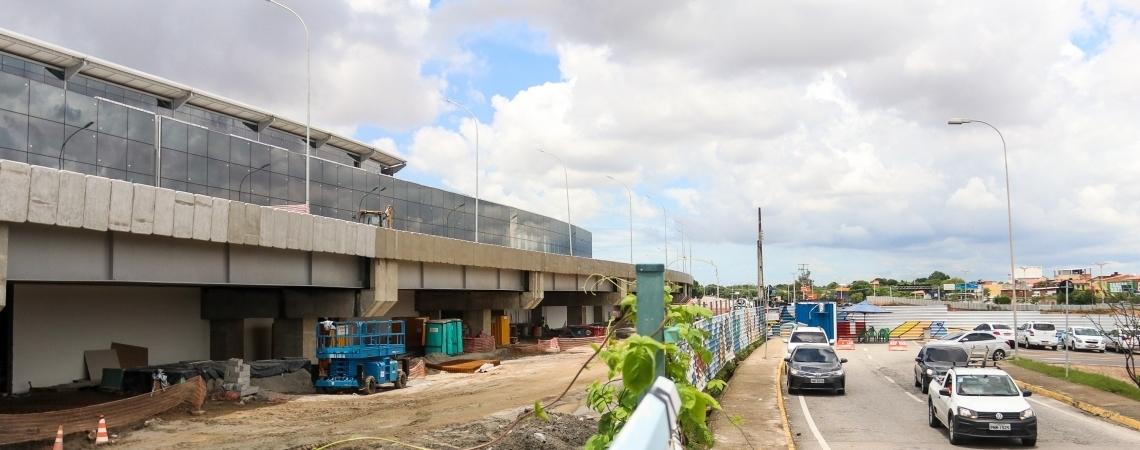 FORTALEZA, CE, BRASIL,  05-04-2019: Andamento das obras no aeroporto de Fortaleza. (Foto: Alex Gomes/O Povo) (Foto: 05 13:03:53)