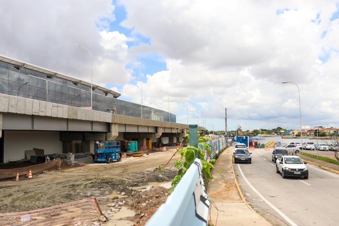 FORTALEZA, CE, BRASIL,  05-04-2019: Andamento das obras no aeroporto de Fortaleza. (Foto: Alex Gomes/O Povo)