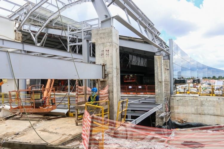 Aeroporto de Fortaleza está sendo ampliado