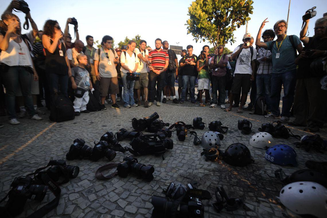 Brasil ocupa a sexta posição no ranking de nações mais perigosas para os profissionais de imprensa, de acordo com a UNESCO