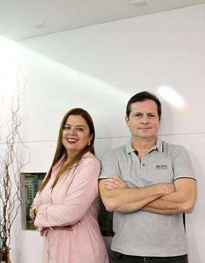 Marcos André Borges e Valéria Cavalcante