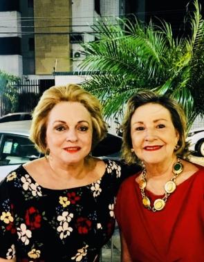 Bebeta Lima e Alessandra Aragão
