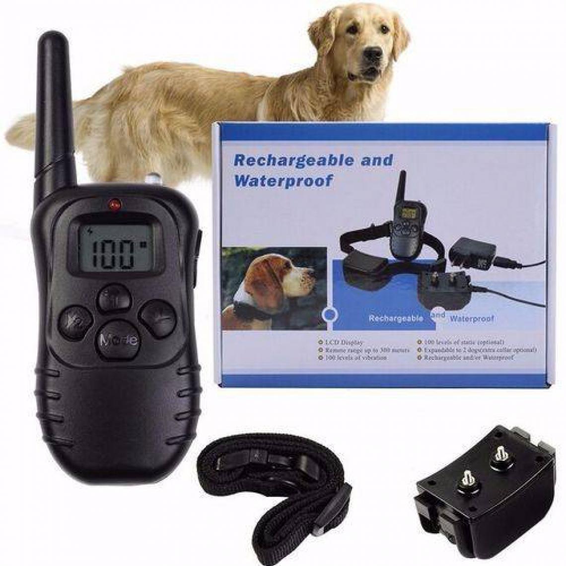 Coleiras são usadas para adestramento e dão descargas elétricas quando animais latem