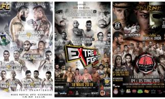 Limo Fight, Extreme Fighter e Big Fight são atrações em maio