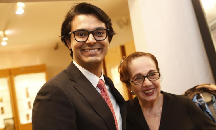 Jeferson Sales e Tania Leitão