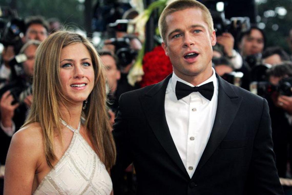Pitty e Aniston estiveram juntos entre os anos 2000 e 2005