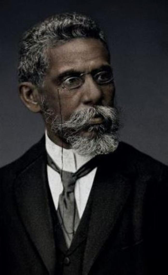 Imagem da campanha Machado de Assis Real