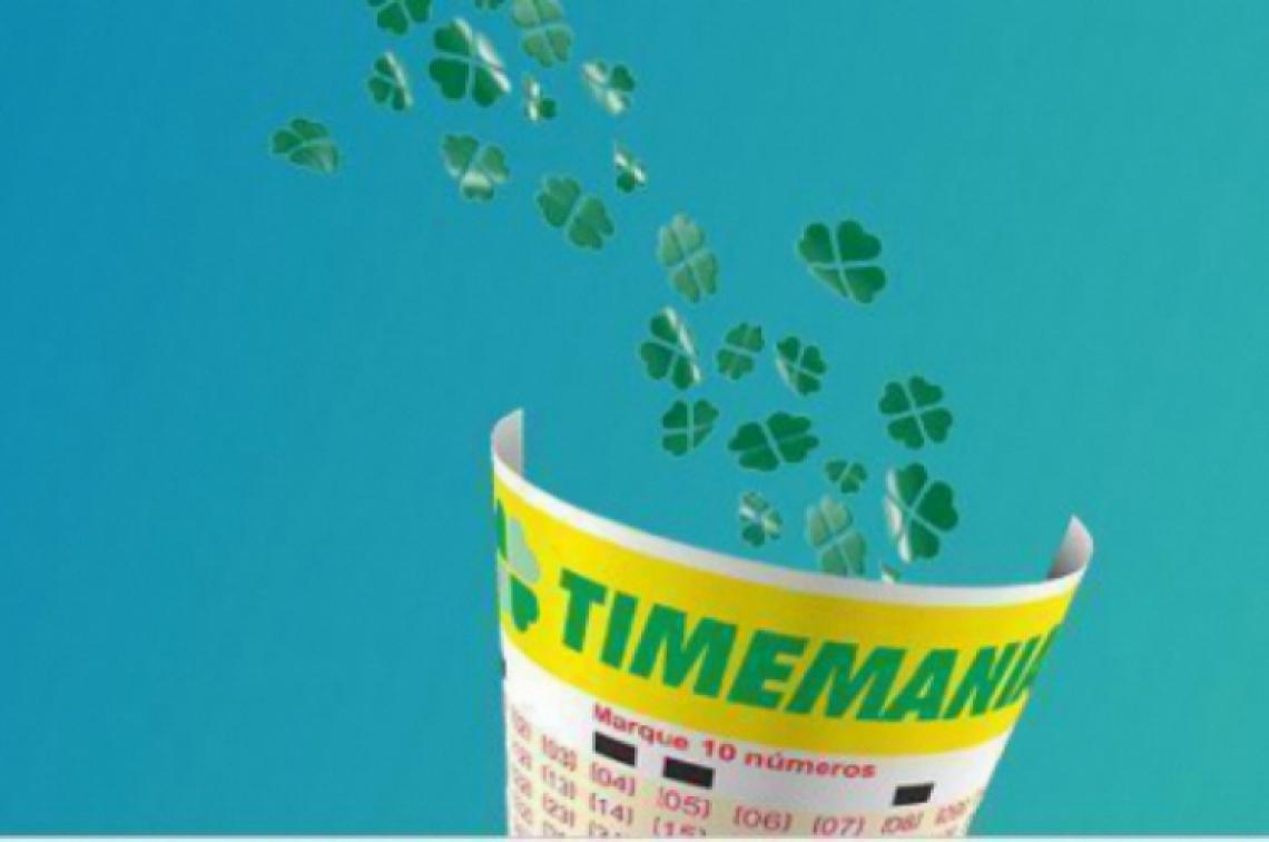 O resultado da Timemania Concurso 1326 foi divulgado na noite desta quinta, 2 de maio (02/05)
