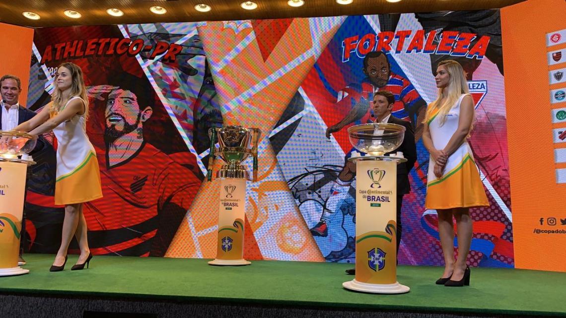 Sorteio colocou Athletico e Fortaleza como adversários no dia seguinte ao jogo entre ambos pela Série A do Brasileiro