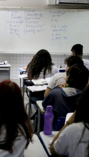 Aulas presenciais do ensino público e privado no Ceará estão paralisadas há três meses  (Foto: FABIO LIMA)