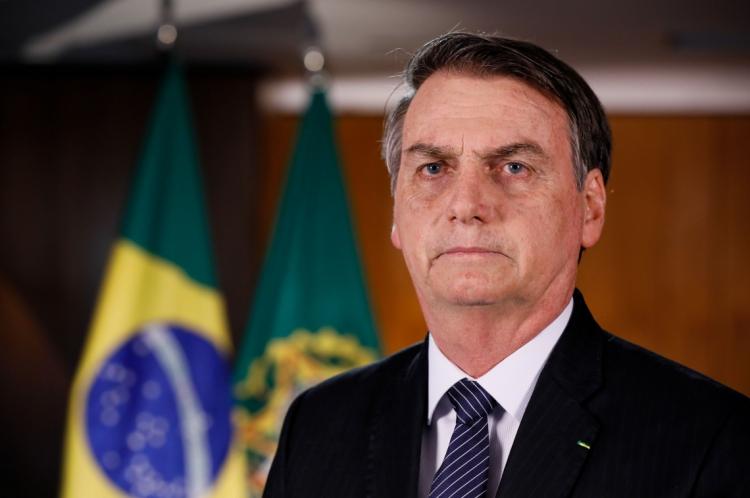 Pronunciamento do presidente da República, Jair Bolsonaro.
