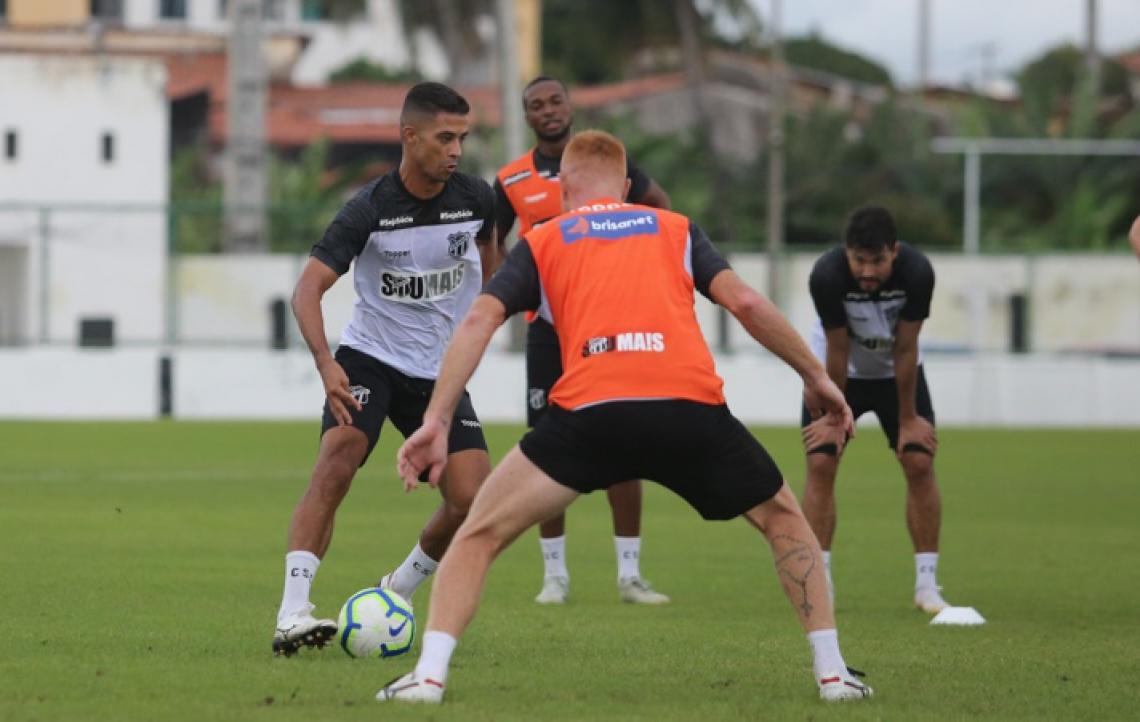 Ceará fez apenas um treino antes de encarar o Atlético-MG