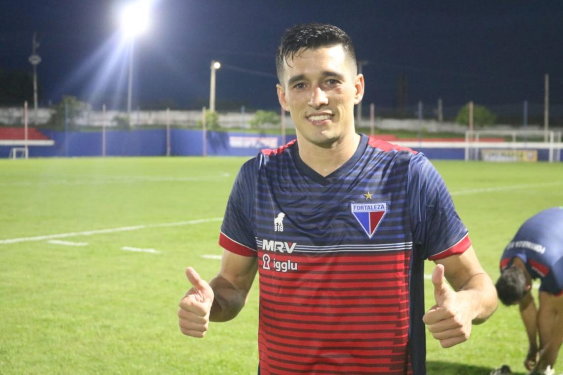 Juninho treina no Fortaleza desde a última terça-feira