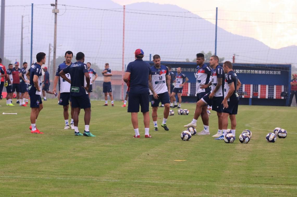 Fortaleza fará toda preparação para encarar o Botafogo no CT Ribamar Bezerra