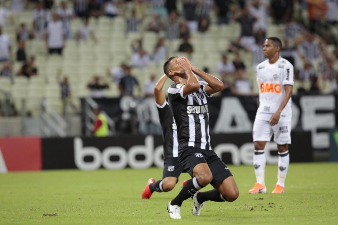 Ceará emendou a segunda derrota seguida na Série A do Brasileiro