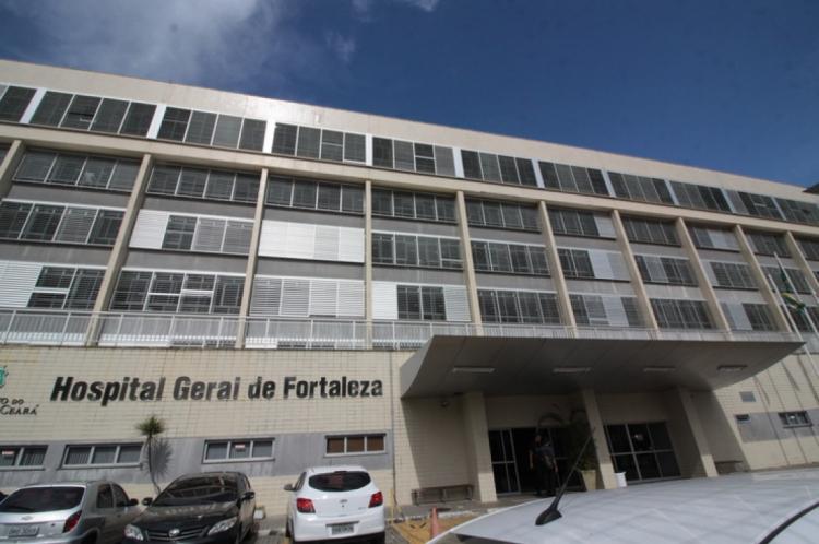 Hospital Geral de Fortaleza é uma das principais unidades estaduais de saúde do Ceará