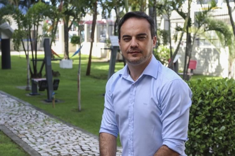 Capitão Wagner é pré-candidato à prefeitura de Fortaleza (Foto: Alex Gomes/O Povo)