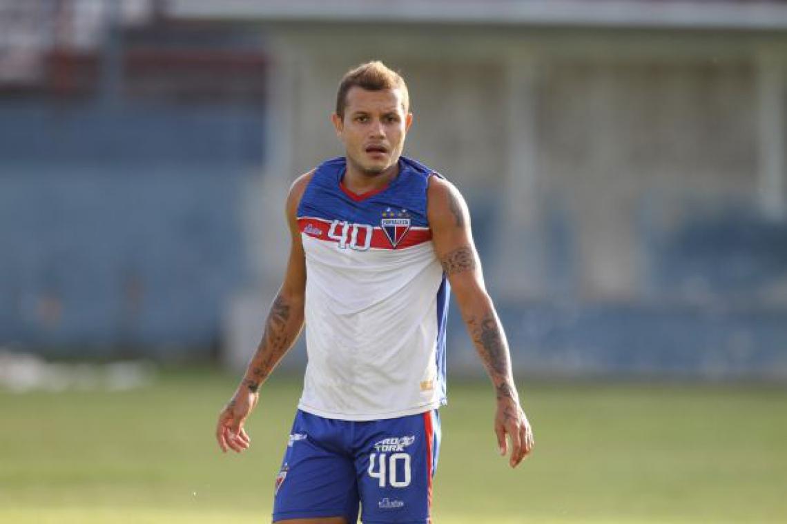 Éverton jogou no Fortaleza entre 2015 e 2017.