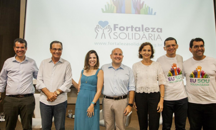 Felipe Cunha, Beto Studart, Carol Bezerra, Roberto Cláudio, Isolda Cela, Renato Lima e Fábio Silva