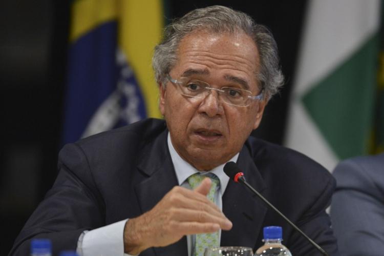 O ministro da Economia, Paulo Guedes, 69, participa de sessão especial na Câmara dos Deputados para discutir a Reforma da Previdência, na tarde desta quarta-feira, 8.