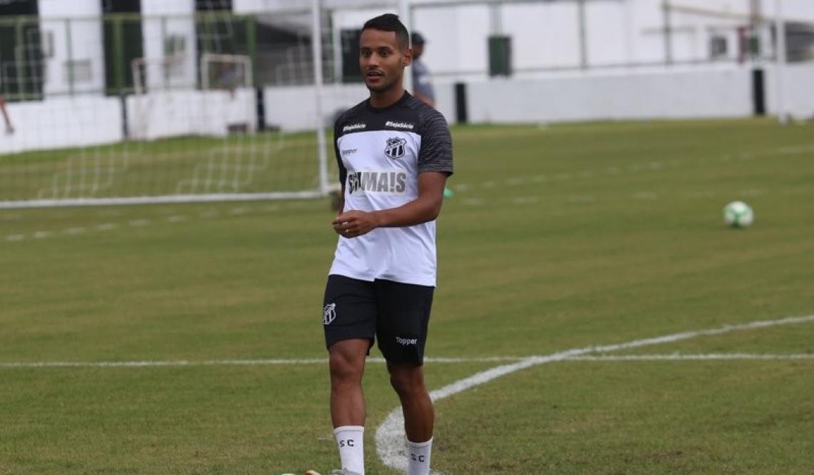 Matheus Gonçalves chegou recentemente ao Alvinegro