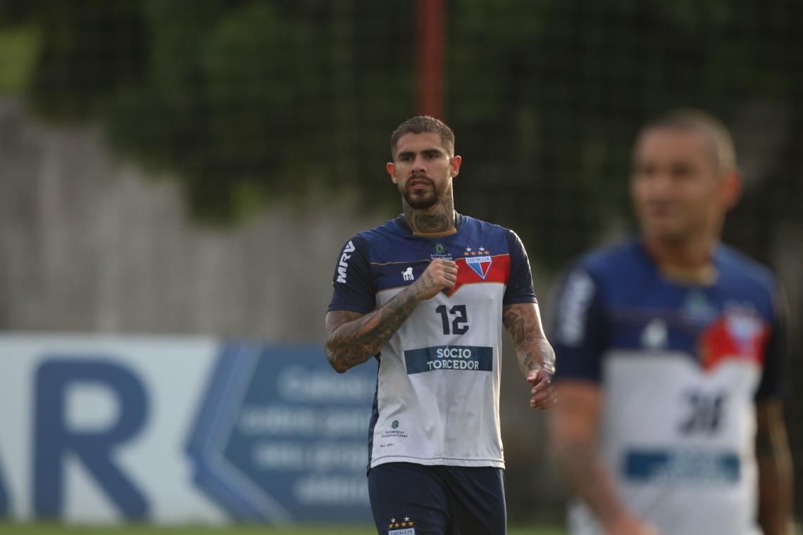 ZAGUEIRO Quintero, do Fortaleza, estará entre os titulares