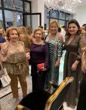 Helena Cidrão, Lúcia Pierre Rodrigues, Stellinha Frota Salles e Luiziana Esteves