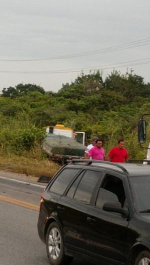 A colisão fatal aconteceu na rodovia federal BR-222, na manhã desta quinta-feira, 9.