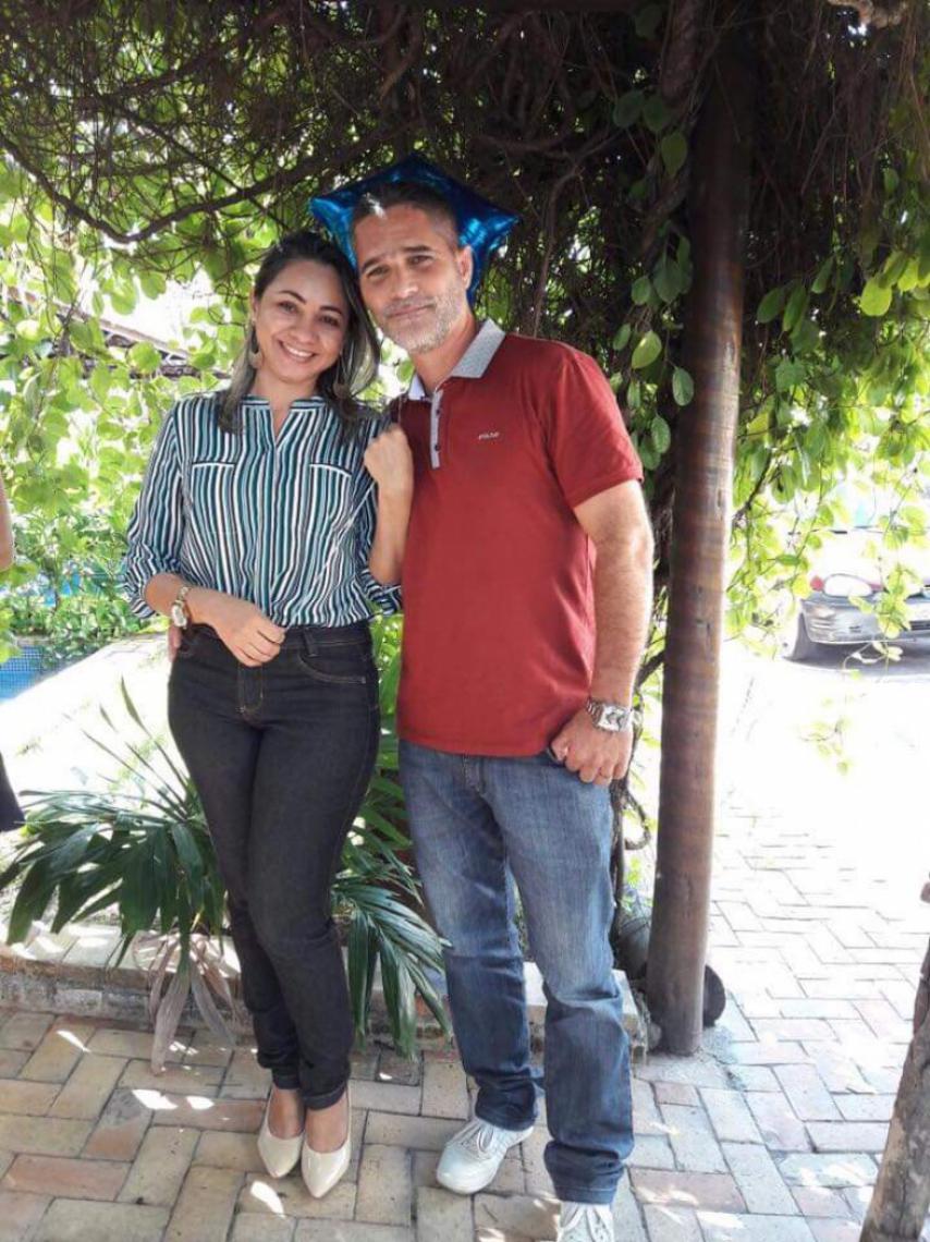 O casal vivia na cidade de São Gonçalo do Amarante, a 55 quilômetros de Fortaleza. O homem trabalhava no setor eólico.