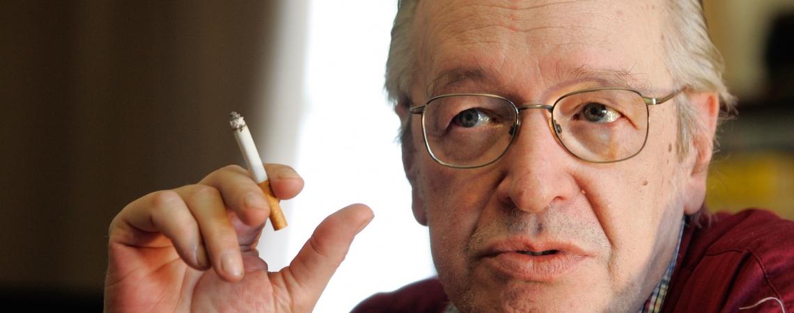 O escritor, conferencista, ensaísta, jornalista e filósofo brasileiro, Olavo de Carvalho. (Foto:  Vivi Zanatta/Folhapress)