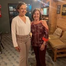Mônica Oliveira Lins e Ana Maria Studart
