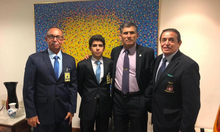 Coronel Castelo Banco, Luiz Carlos Castelo, General Santos Cruz e Carlos Castelo