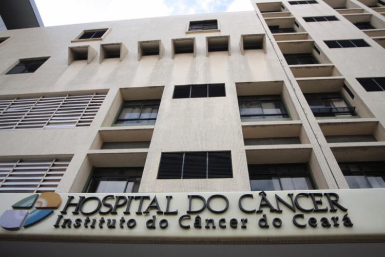 Fachada do Instituto do Câncer do Ceará (ICC).