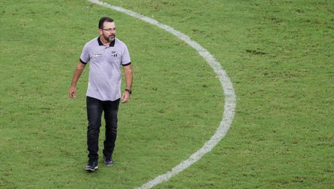 ENDERSON Moreira não quer o Ceará com postura defensiva contra o Avaí