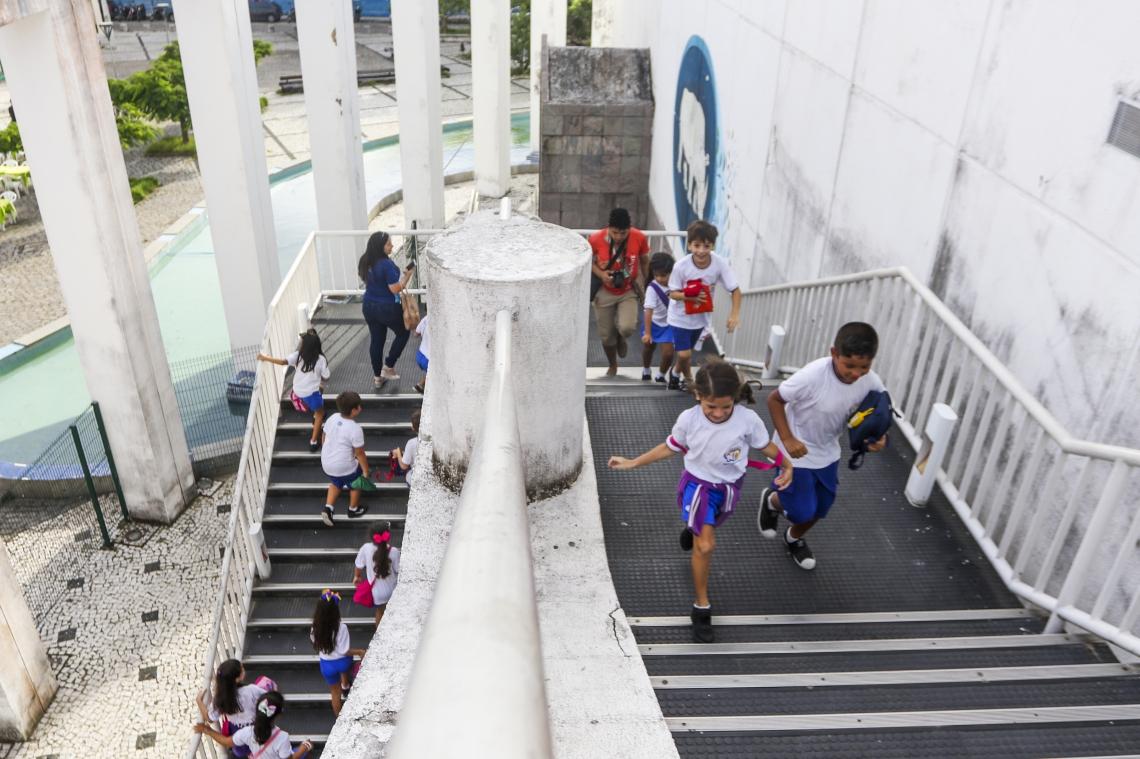 Fortaleza, CE, Brasil, 24-04-2019: Centro Dragão do Mar de Arte e Cultura. (Foto: Mateus Dantas / O POVO)