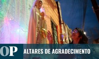 Procissão celebra Nossa Senhora de Fátima