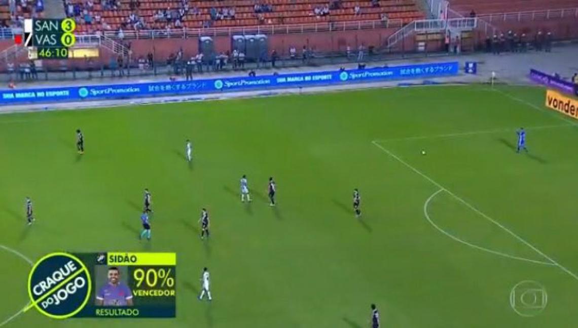 Sidão venceu enquete dos internautas com 90% dos votos.