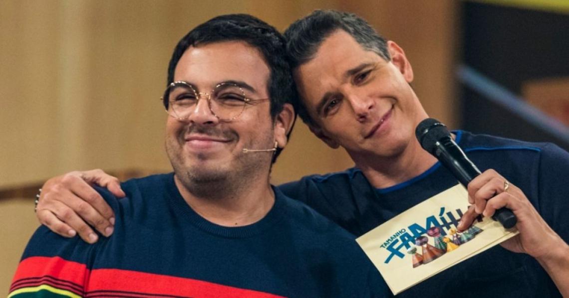 Márcio Garcia responde a comentário homofóbico de seguidor após beijo entre ator Luis Lobianco e seu marido, o pianista Lúcio Zandonadi.