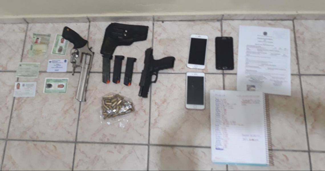 Integrantes da organização criminosa usavam documentos falsos no Rio Grande do Norte quando foram presos pela Polícia Civil do Ceará