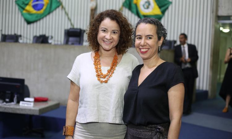 Cinthia Medeiros e Ana Naddaf