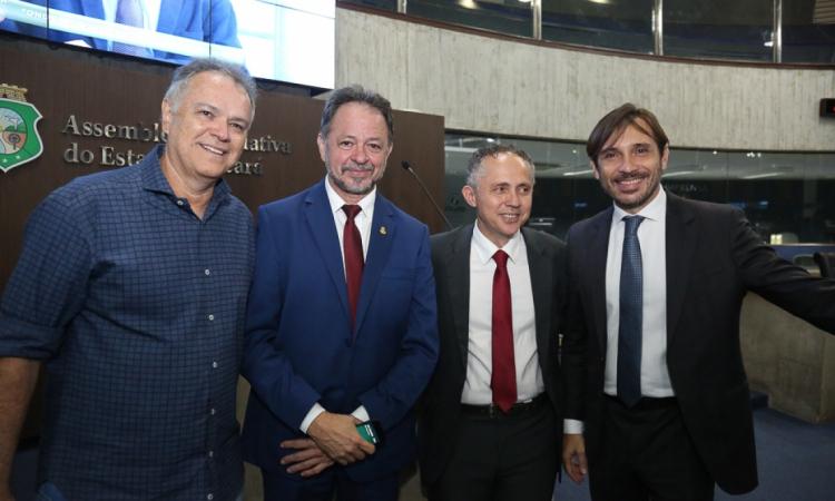Wolney Oliveira, Acrísio Sena, Evaldo Lima e Guilherme Sampaio