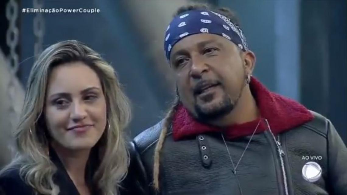 Marcelo Tchakabum e Elaine Costa deixaram a mansão com apenas 35,53% da preferência do público e apenas R$ 30 mil acumulados.