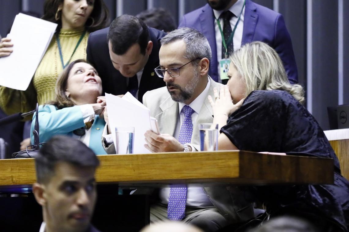 Ministro da Educação, Abraham Weintraub, na Câmara dos Deputados