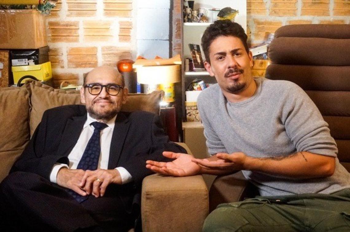 Carlinhos será o primeiro brasileiro contratado pelo Instagram para apresentar um talk show.