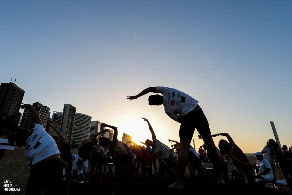 Em sua 6ª edição na cidade de Fortaleza, cerca de 25 (vinte e cinco) estúdios de Pilates reuniram-se e estarão realizando no sábado dia 18 de maio, das 16h às 18h, no Aterro da Praia de Iracema, atividades gratuitas para a comunidade que tenha interesse em conhecer um pouco mais sobre o método