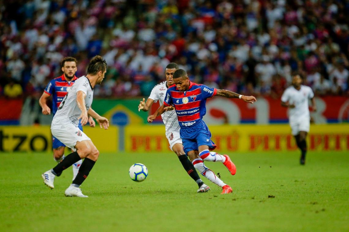 Marcinho (foto) foi um dos destaques positivos do Tricolor no jogo