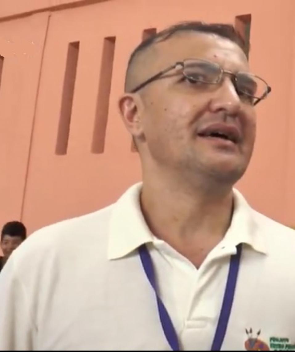 Cláudio Aritana, apontado como o líder do esquema criminoso